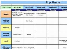 Trip Planned Sharing Docs Vacation Planning Template