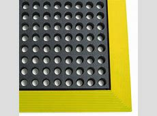 Industrial WorkSafe Anti Fatigue Mats with NBR Rubber are Petroleum Base Fluid Resistant Mats by