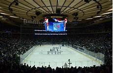 Rangers Goal Light New York Rangers Homecoming At Square Garden