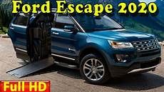 2020 Ford Escape Color Chart Ford Escape 2020 New 2020 Ford Escape Redesign Review