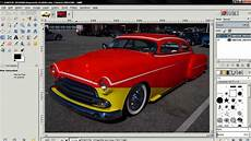 Car Color Design How To Change Car Paint Color In Gimp 2 8 Youtube