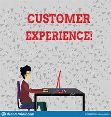 Another Word For Customer Experience Word Writing Text Customer Experience Business Concept