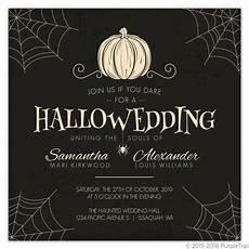 Sample Halloween Invitations Top 8 Freakishly Awesome Halloween Wedding Invitations