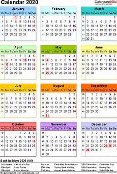 One Year Calendar 2020 Best Of 2020 Calendar Printable One Page Calendar 2019