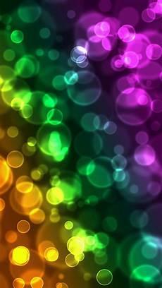 iphone wallpaper light bubbles colorful blurred bubbles wallpaper free iphone wallpapers