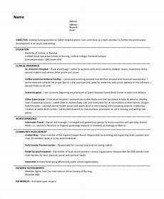 Nursing Objective Resume Free 7 Nursing Resume Objective Templates In Pdf