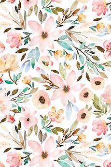 flower wallpaper watercolor colorful fabrics digitally printed by spoonflower indy
