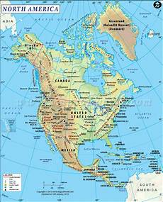 World Map Of North And South America Great Website With Printable Maps Including Road Maps That