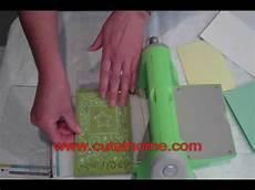 Cuttlebug Sandwich Chart Cuttlebug Sandwich Guide Personal Die Cutting