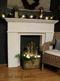 Decorate Fireplace Lighting 50 Nature Inspired Holiday Decor Ideas Decorating With