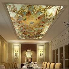 3d wallpaper mural clouds sky european