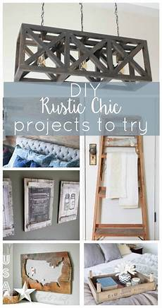 diy projects to try 11 rustic chic projects to try this average but