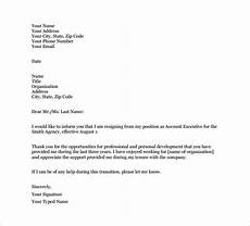 Resigning From A Board Email Resignation Letter Template 9 Free Word Excel