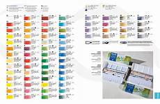 Sennelier Watercolor Chart Watercolors On The Fly Upgraded Palette Of Single Pigment