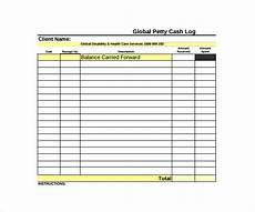 Cash Register Log Template Free 8 Sample Petty Cash Log Templates In Pdf Ms Word