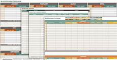 Marketing Calendar Template Excel Free Marketing Plan Templates For Excel Smartsheet