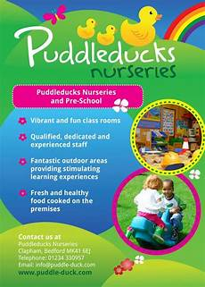 How To Make Advertising Flyers Nursery School Flyer Design Examples Of Some Of The