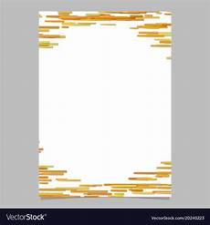 Blank Flyers Blank Horizontal Rounded Stripe Background Flyer Vector Image
