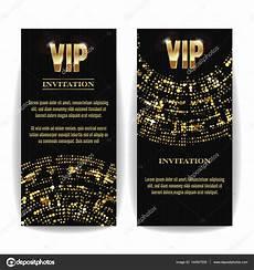 Vip Invitation Card Vector Party Premium Blank Poster