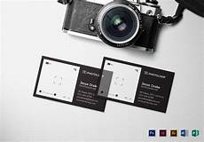 Business Card Photography Plastic Photographer Business Card Template In Psd Word