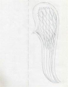 Drawing Of Angel Wings How To Draw Angel Wings Quickly In Few Easy Steps