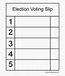Voting Ballot Template For Word Simple Voting Success Printable Ballot Template Word