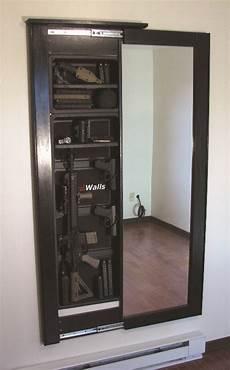 secret gun compartment mirror stashvault