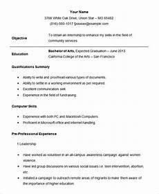 Cv For Internship Example 24 Student Resume Templates Pdf Doc Free Amp Premium