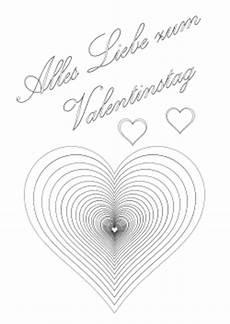 valentinstag malvorlagen zum ausdrucken anleitung malbild