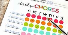 And Doug Chore Chart Printable Chore Chart For Kids