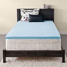 priage mygel 2 inch gel memory foam mattress topper ebay
