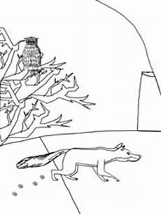 kostenlose ausmalbilder tiere im winter malvorlage winter tiere coloring and malvorlagan