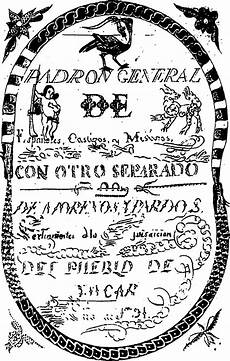 Latin Wording Colonial Spanish Terms