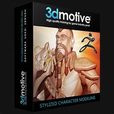 3dmotive Character Design In Photoshop Volume 1 3dmotive Stylized Character Modeling Volume 3
