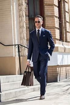 Second Interview Attire One Suit Five Ways The Versatile Navy Hopsack Suit He
