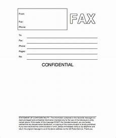 Fax Form Templates 9 Printable Fax Cover Sheets Free Word Pdf Documents
