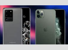 Samsung Galaxy S20 Ultra vs iPhone 11 Pro Max: ¿cuál es