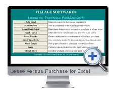 Buy Versus Lease Analysis On Excel Excel Lease Versus Purchase