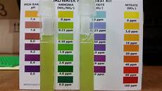 Api Nitrate Test Kit Color Chart Api Master Kit What Color Do You See Beginners