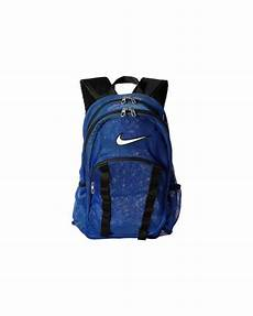 lyst nike brasilia 7 backpack nike brasilia 7 backpack mesh large in blue lyst