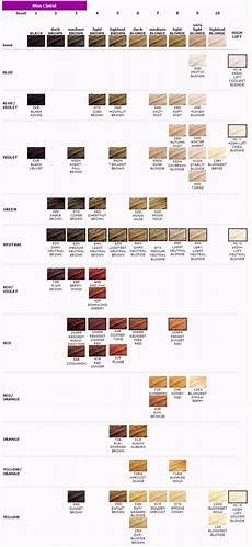 Professional Clairol Hair Color Chart Clairol Miss Clairol Conditioning Color
