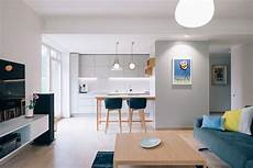 Minimalist Home Minimalist Home With Blue And Yellow Accents