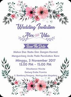 undangan pernikahan wedding invitation kode uno 03