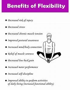 Flexibility Chart Benefits Of Flexibility