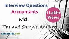Accounting Interview Questions And Answers Accounting Interview Questions And Answers For Freshers