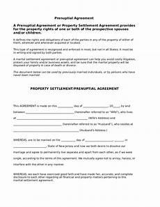 Prenuptial Agreement Templates 5 Prenuptial Agreement Form Templates Word Excel Templates