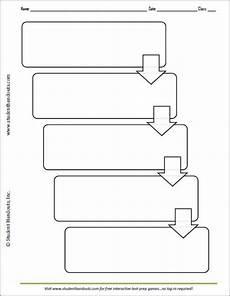Flow Chart Graphic Organizer Printable Printable Flow Map This Five Box Flow Chart Graphic