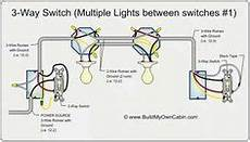 3 Way Switch Wiring Multiple Lights 3 Way Switch Diagram Multiple Lights Between Switches
