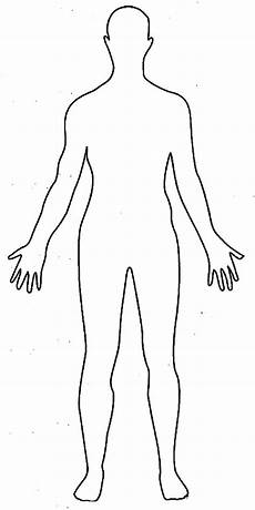 Outline Of Human Body Front And Back Body Outline Coloring Pages Download And Print For Free