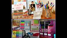 desk organization diy ideas back to school